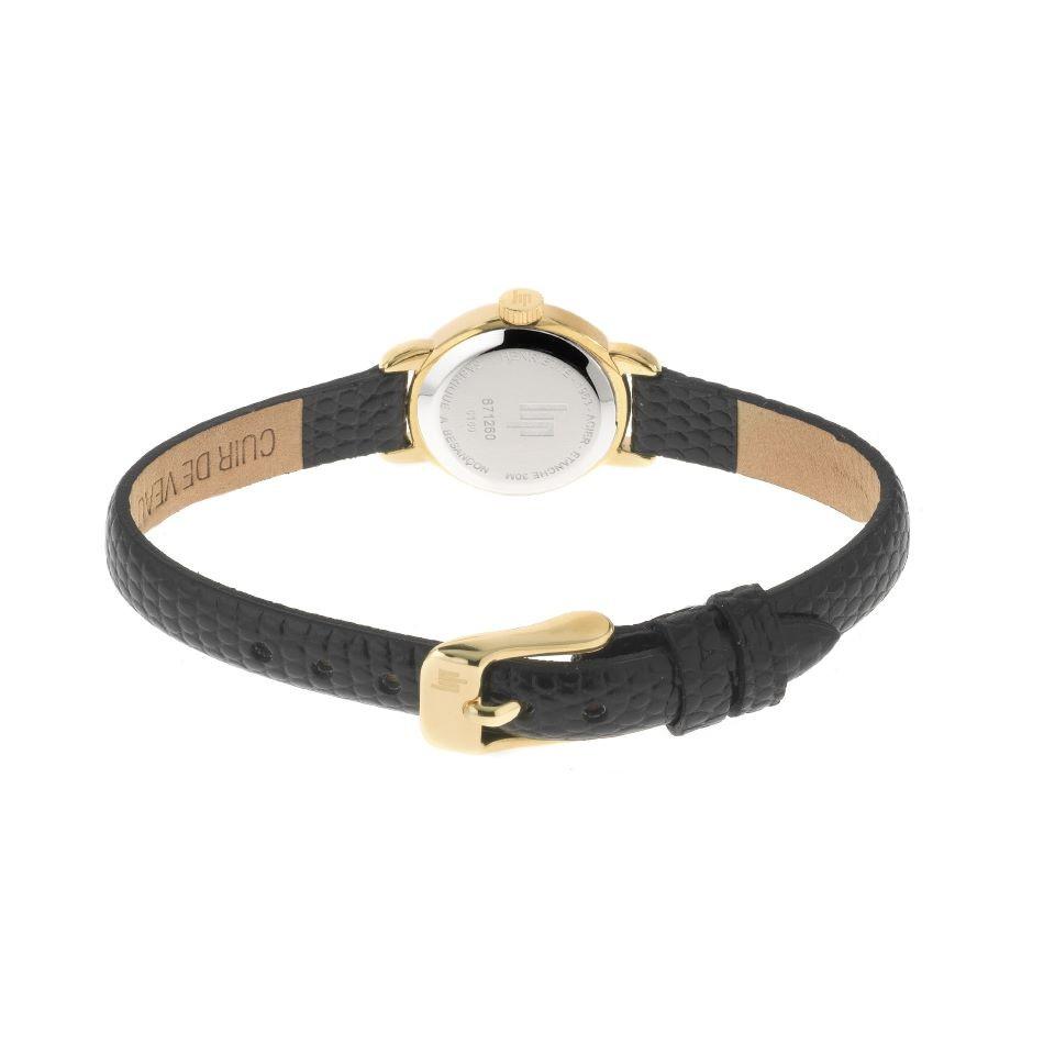 montre lip femme à anse bracelet en cuir