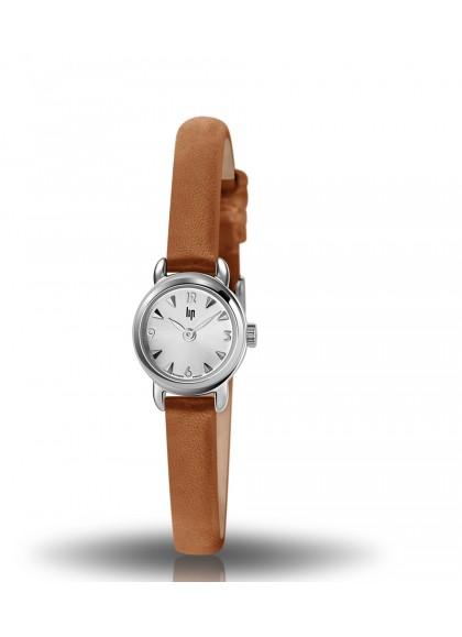 Henriette classic chromée bracelet cuir marron 671199