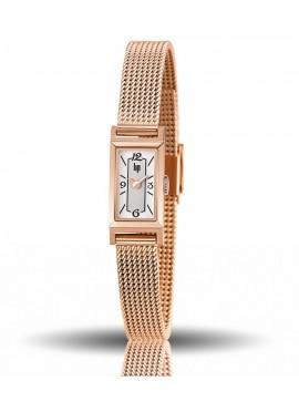 T13, churchill, rose dorée, bracelet milanais rose doré, quartz, lip, 671228