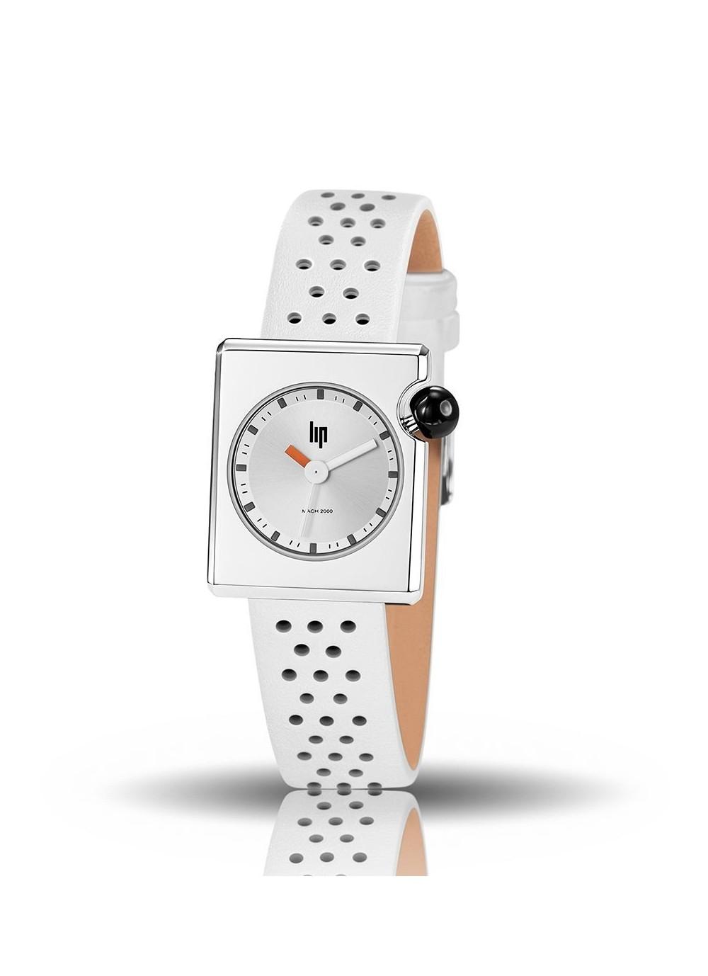 Mach 2000 mini bracelet blanc perforé
