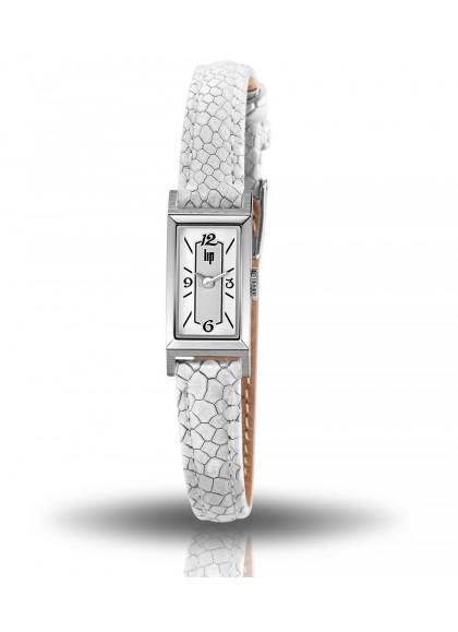 T13 baguette bracelet blanc