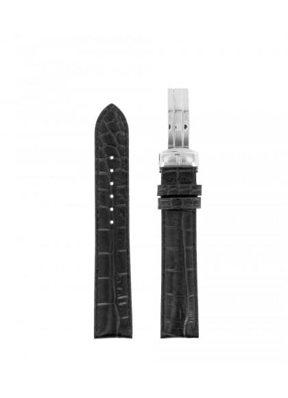 18 MM - BLACK LEATHER XL