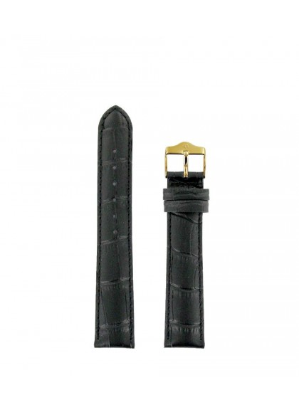 18 MM - 黑色皮革
