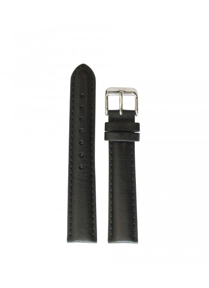 18 MM - BLACK LEATHER