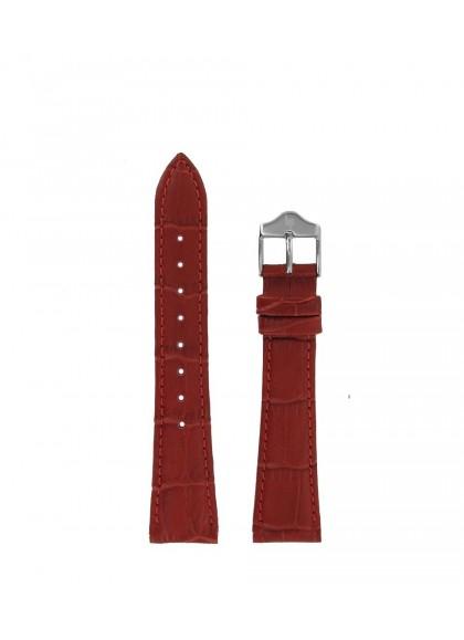 18 MM - 红色皮革