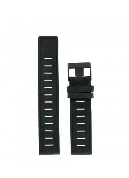 20 MM - BLACK LEATHER