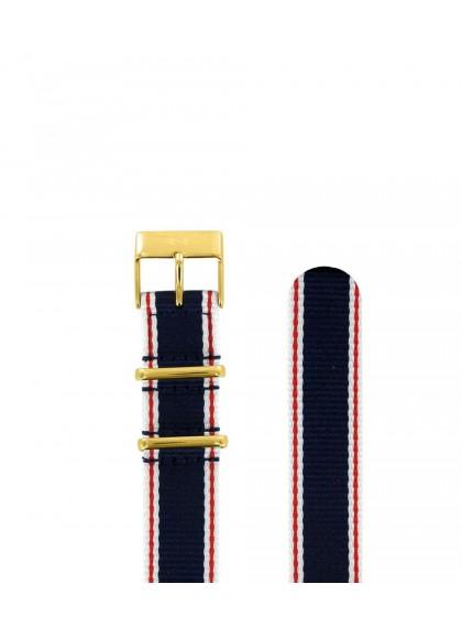 18 MM - TEXTILE TRICOLORE