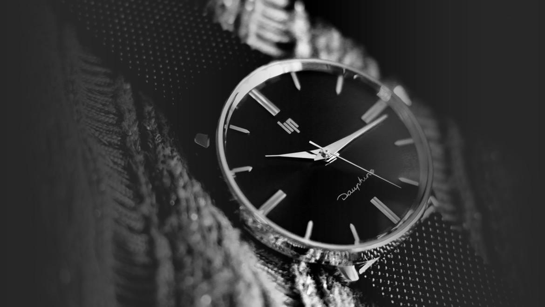 Montres homme minimaliste, la montre Dauphine par LIP